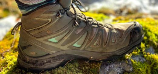 salomon hiking boot feats